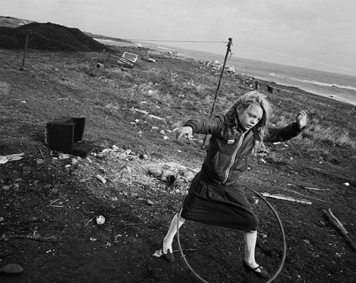 Helen and Hula-Hoop, 1984 by Chris Killip