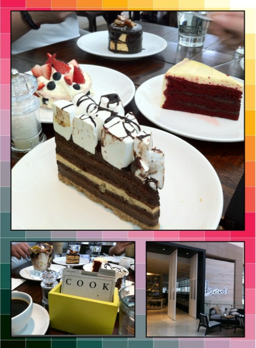 Must TRY in Kuala Lumpur! Ben's at Pavilion. The red velvet cake. The banoffee sundae. And the delectable salads (for those watching their waistline).   Ben's (Another Bright Idea by BIG), Level 6, Pavilion Shopping Mall, Jalan Bukit Bintang, Kuala Lumpur.