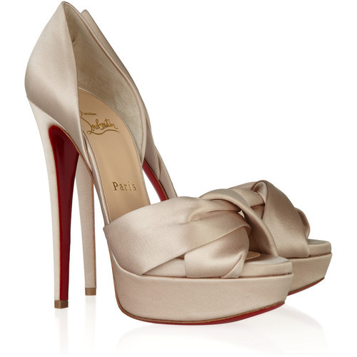 Christian Louboutin pumps   (see more high heels)