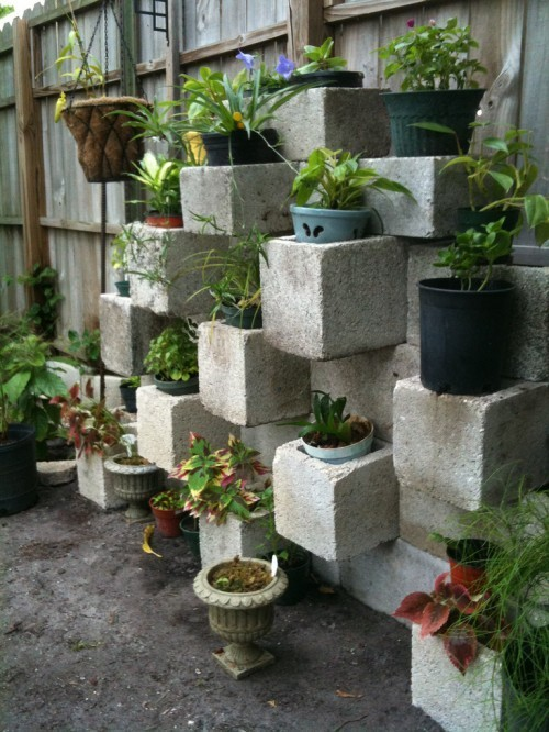 Great way to have a herb garden!