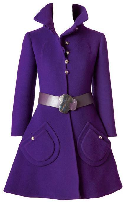 "ugli-fruit:  omgthatdress:  Coat 1960s 1stdibs.com  Maria would LOVE this coat.  The first thing I thought when I saw this was ""I LOVE that coat!"" haha"