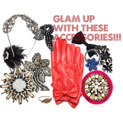 Glam Up Winter with these Accessories!! by demarja featuring a pin brooch
