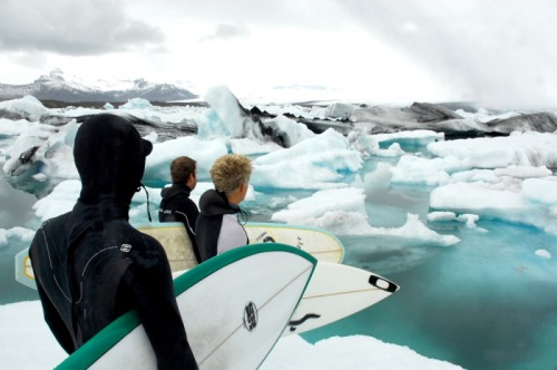 radicalsurfer:  lets go surf some glaciers shall we