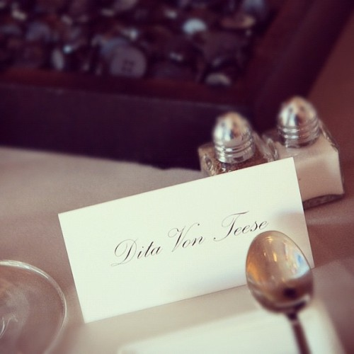 Place setting (Taken with instagram)