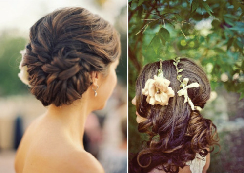 theweddinglover:  bellethemagazine: Hair Comes Bride