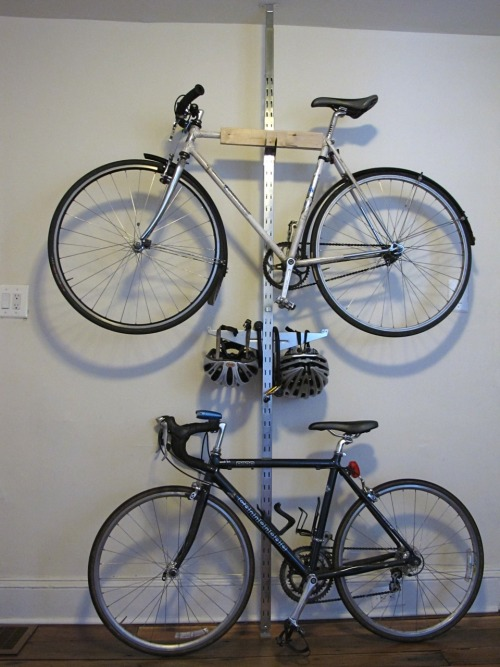IKEA HACK SPOTTED // BRODER storage system used as a bike rack