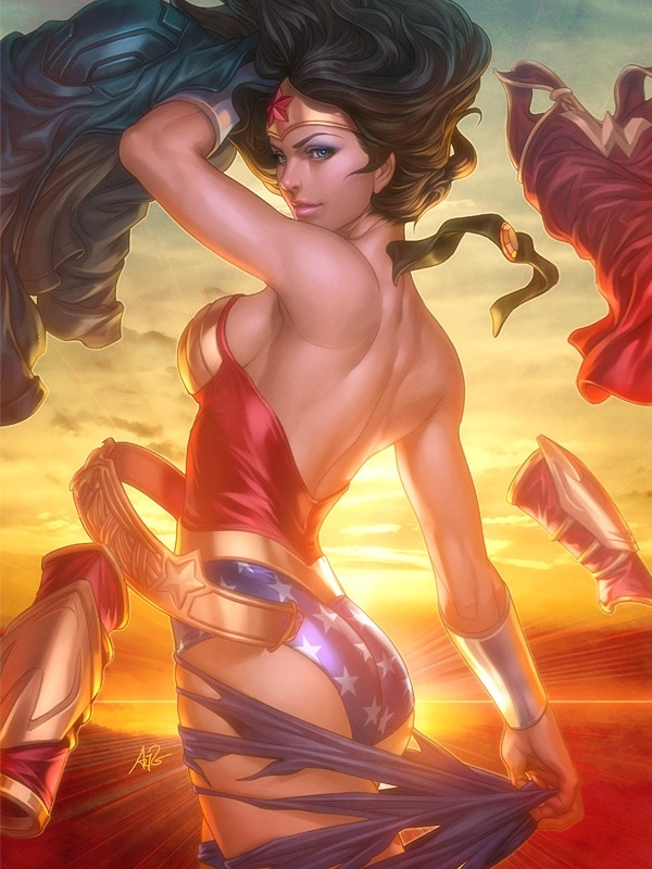 Wonder Woman by Artgerm