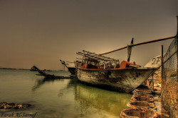 Old Boat by Farah Al Sarraf on Flickr.