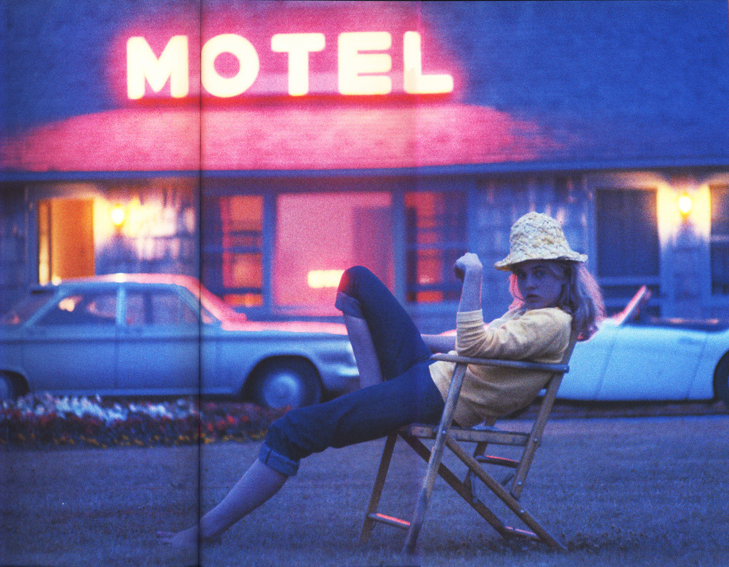 Sue Lyon as Stanley Kubrick's interpretation of Nabokov's Lolita photographed by Bert Stern in 1960