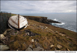 The old boat at Mizen Head by Donncha @ InPhotos.org on Flickr.