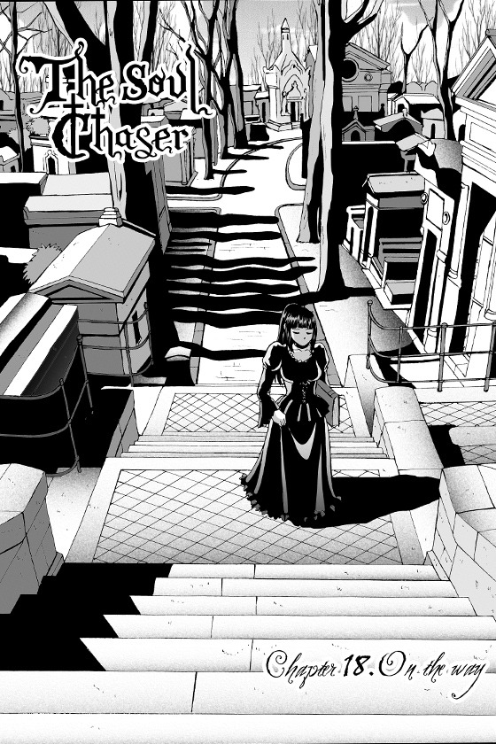 Chapter  18 for The Soul Chaser is up on the MangaMagazine.net website! Go check  it out! =D (And don´t forget to leave us a comment in our forums!  ¡El capítulo 18 está ya en la web de MangaMagazine.net! ¡Echadle un  vistazo y no olvidéis dejarnos un comentario en el foro!