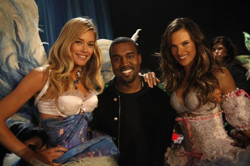 Ale & Dout with Kanye @ VSFS11 I just wanted a pic with Kanye and Adriana… Can't wait to see on TV!!!