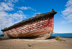 Old boat, Poolbeg, Dublin. by DavidSoanes on Flickr.