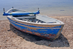 Old boat, Corfu by Ava Babili on Flickr.