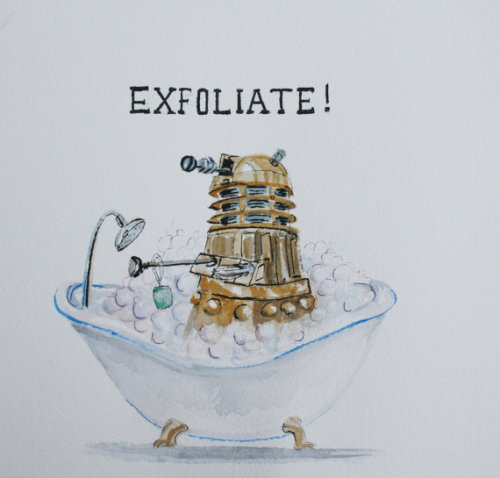sogeekchic:  And don't forget to scrub behind those … ears? Print available from autogeography, and perfect for a bathroom decoration! Also, be sure to check out the artist's Etsy shop from some other geeky illustrations, including a really great Stormtrooper cameo.