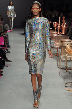 Smoke, mirrors, holograms, and cellophane on the spring runways, in this week's Style Hunter.