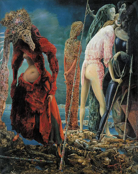 Max Ernst,The Antipope (1942)  Guggenheim Collection, Venice
