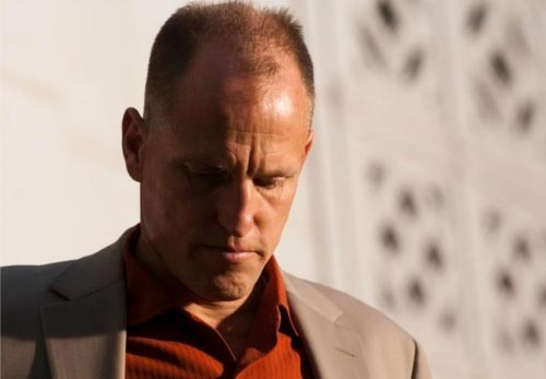totalfilm:  Woody Harrelson replaces Mickey Rourke in Seven Psychopaths Martin McDonagh's In Bruges follow-up Seven Psychopaths  has already got a cast to die for, but that ensemble just got even better with the announcement that Woody Harrelson and Tom Waits have signed on, with Olga Kurylenko also in negotiations.The new trio will join existing stars Colin Farrell, Christopher Walken and Sam Rockwell to tell the story of a Hollywood screenwriter (Farrell) who becomes embroiled in a scheme cooked up by his friends (Walken and Rockwell) to dognap the beloved pet of a vicious gangster.[FOR THE FULL STORY, CLICK ON WOODY OR FOLLOW THIS LINK]  OK, so no Rourke is kind of sad but Woody Harrelson brings a whole different kind of awesome to the project that still has one of the most exciting casts I've heard of.