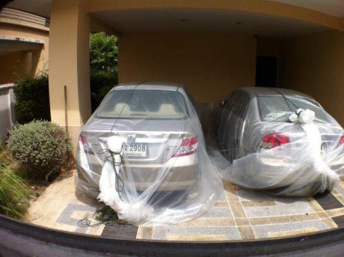 Car Bags via @MarcusBurtBKK