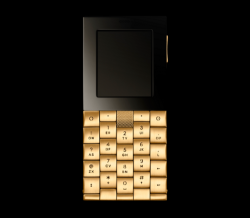 Aesir Copenhagen Luxury Phone by Yves Behar