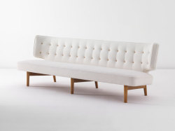 wallpapermag:  Important Nordic Design auction, London Sofa, designed by Vilhelm Lauritzen and made by Rud. Rasmussen, 1942