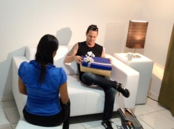 Interview for Peruvian TV