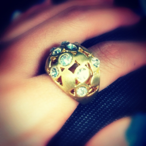 my-wishingstar:  Diamonds and gold may look pretty, but it can never buy a heart.  Wow…you're so hipster.