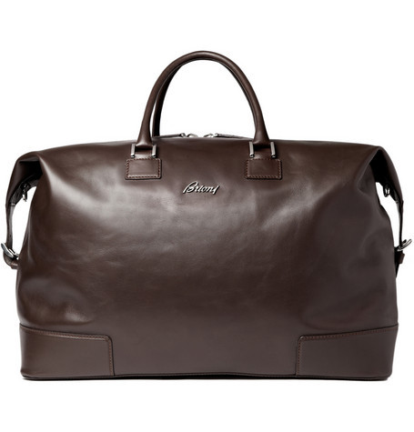 kodbrazilio:  BrioniLarge Leather Travel Bag