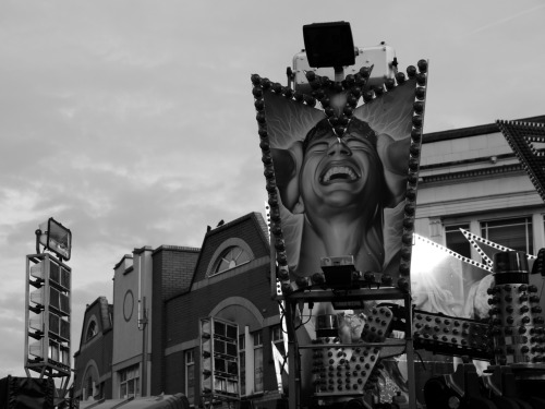 Loughborough Fair is a headache. 10/11/2011.