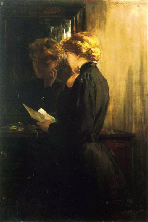 The Letter 1910 James Carroll Beckwith