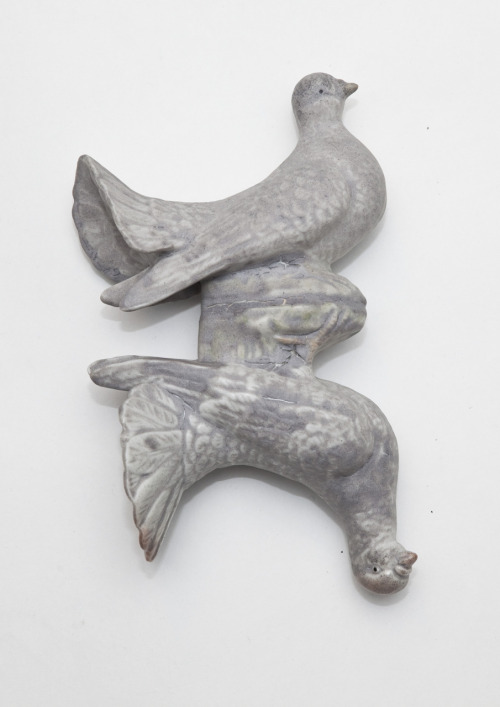 Kjersti Lunde: Duett, 2011 - Found object, porcelain (Photo: Tor Lie)