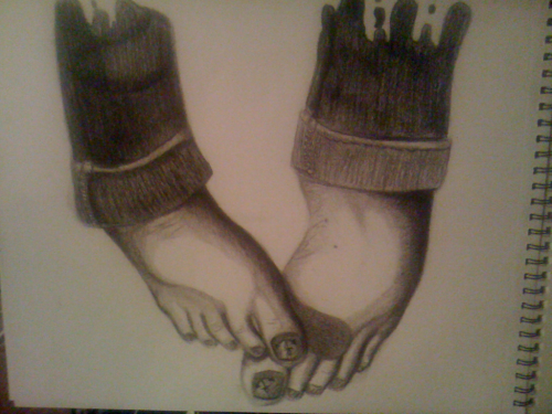 Not finished. Ebony & graphite :3