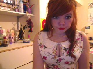:) My new playsuit which was £6 :O I'm annoyed cos i used a trail version of Youcam and now it wont let me inout a serial and all the other webcam programs are low quality! Wahhhh! :(