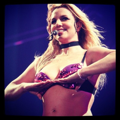 November 3, 2011 - Femme Fatale Tour in Newcastle, UK (Taken with instagram)