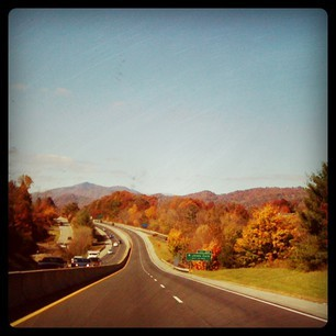 *The Long Road Home* photography, iPhone, Instagram by R. Sherinian