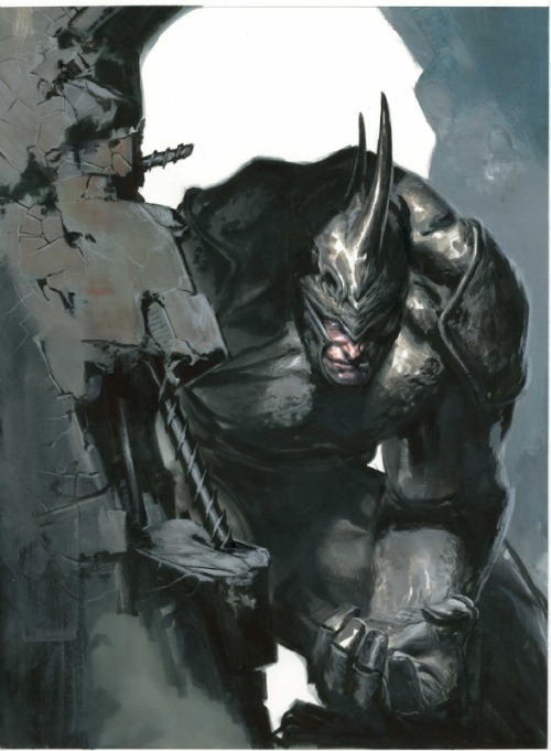 lulubonanza:  Drawn By Gabriele Dell'Otto  www.dellotto.it