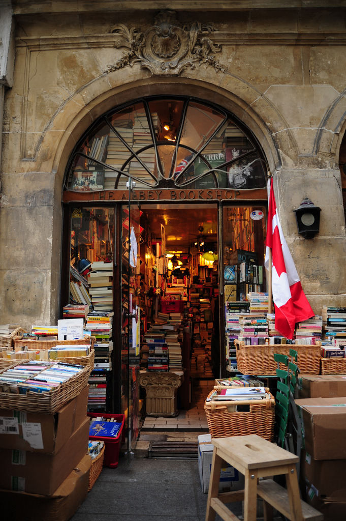 bookmania:  La librairie Canadienne de Paris / The Abbey Bookshop, 29 Rue de la Parcheminerie, Paris, France. In 1989, Brian Spence, who hails from Toronto, crossed the Atlantic to bring his Abbey Bookshop to an international audience. The Abbey Bookshop in Paris's Latin Quarter has for the last twenty years become a cultural epicenter for Canadians, Anglophones and Anglophiles from all corners of the world. Although offering a wide variety of Canadian books, its main attraction is an eclectic collection of over 35,000 titles in English ranging from scholarly to popular literature.