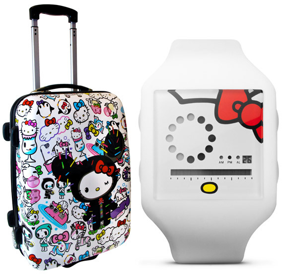 tokidoki & Nooka for Hello Kitty - available in stores & Sanrio.com ; There's a really cute tokidoki mug thats part of the collection… I want it.