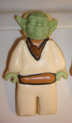 Yoda sugar cookie x