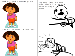 fyeahlol:  Whatever you say Dora.