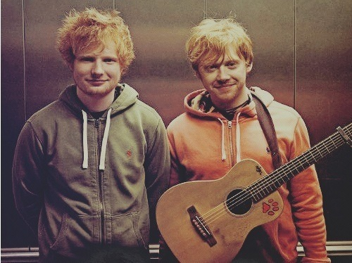 gema4ever21:  ED SHEERAN & RUPERT GRINT Lego House video