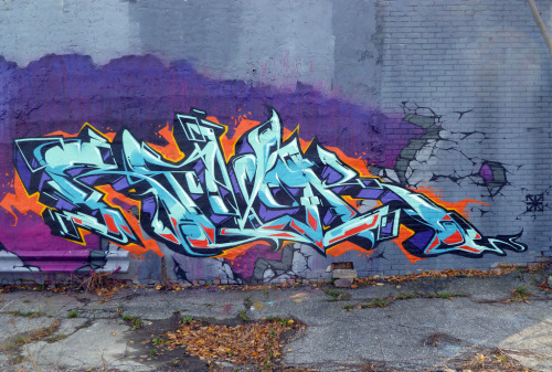 Revok in #Detroit. #Graffiti #Graff #Revok #MSK