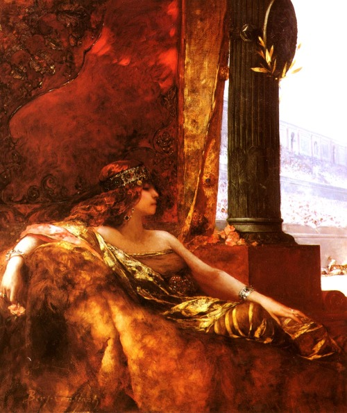 Jean-Joseph Benjamin-Constant (1845–1902) Empress Theodora at the Coliseum