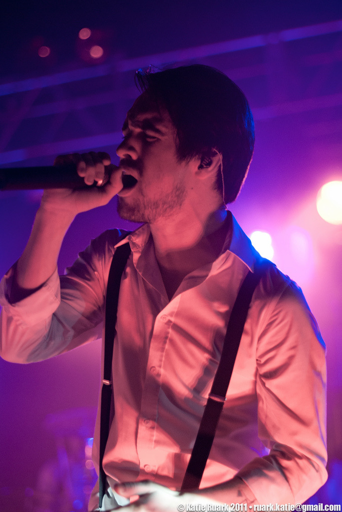 Brendon looks good in pink.