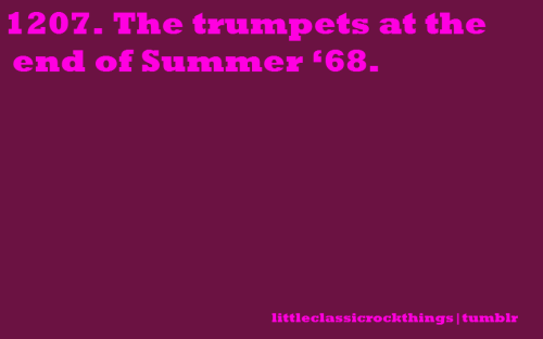 "littleclassicrockthings:  ""Summer '68"" by Pink FloydSubmitted by crocro"