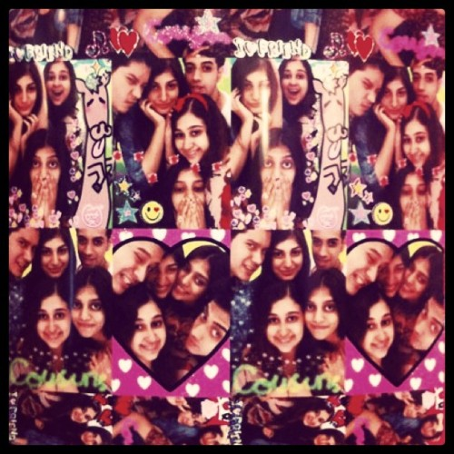 photobooth at singapore with @rerehana @afservia @zishanservia & @gondres #instagram #photobox #photobooth #pictures #family #cousin #cute (Taken with instagram)