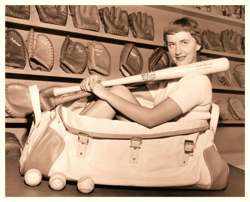 Wilson Sporting Goods Promo Girl - 1940's
