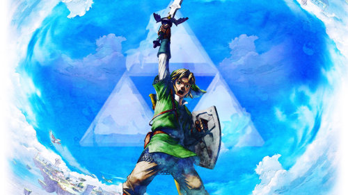Watercolor rendition of Link.
