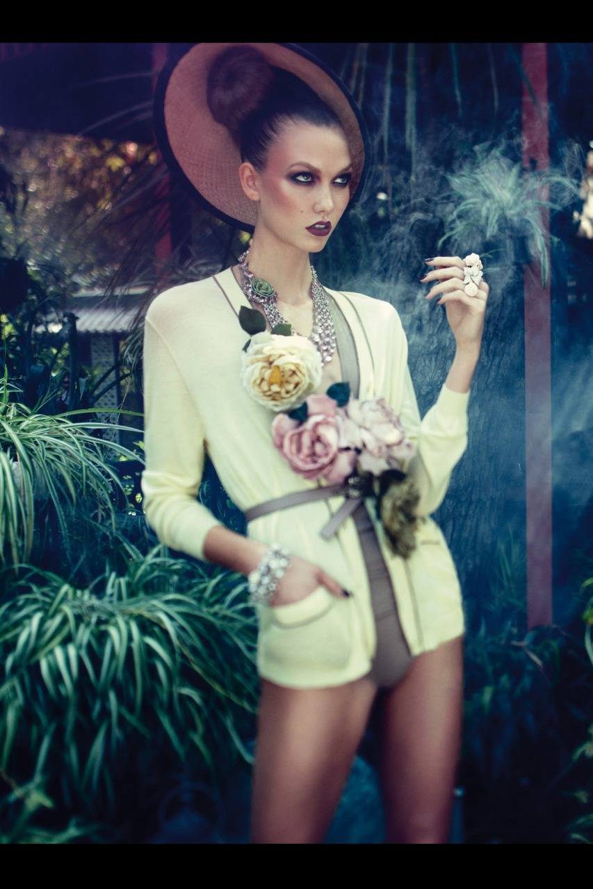 Karlie Kloss - Vogue Germany by Alexi Lubomirski, December 2011