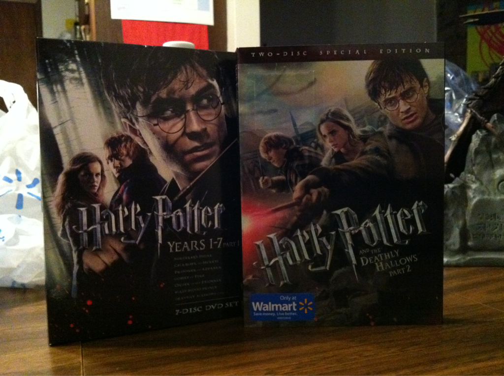 My Harry Potter collection is complete!!! Muhahaha!!!